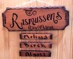 real wood sign specialty Rustic sign